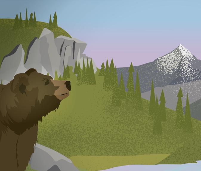 Montana nonprofit design and illustration