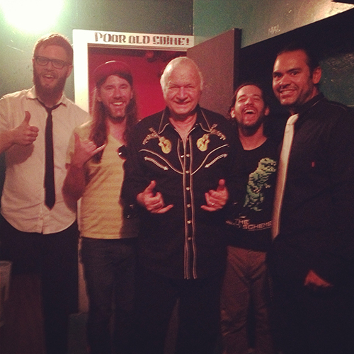 Trabants with Dick Dale in Northampton, MA July 2013
