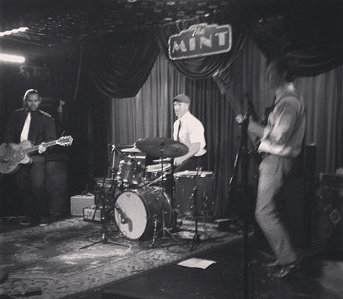 Trabants's featuring Benny Beachwood on drums live at the Mint.