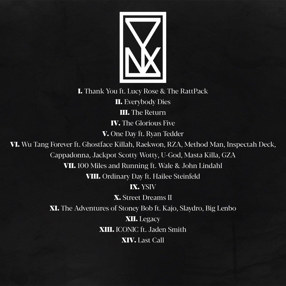 YSIV track list