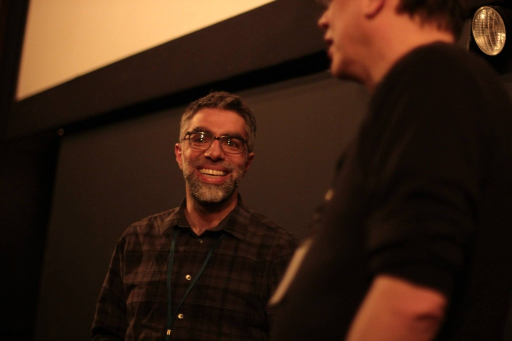 Director Usama Alshaibi at the Chicago Underground Film Festival