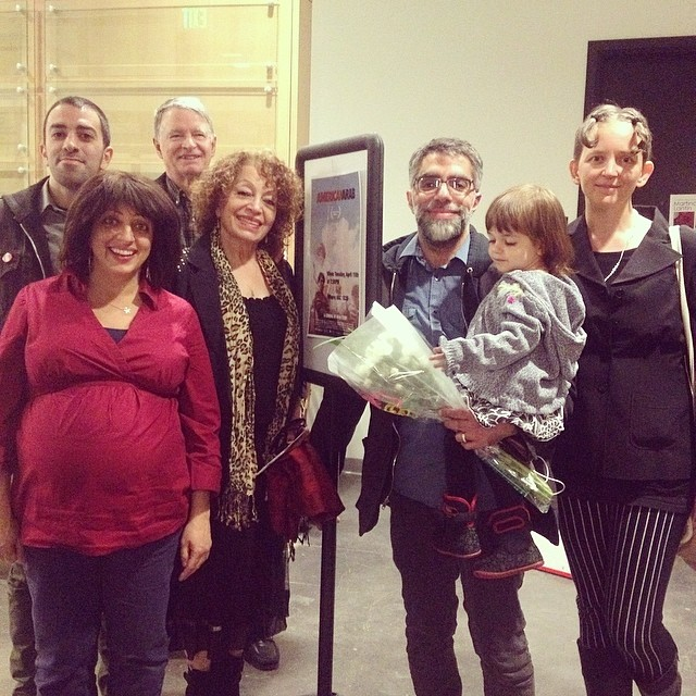 Usama Alshaibi and family at the University of Boulder Screening