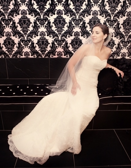 """""""Looking and feeling comfortable in my own skin made my wedding day that much more magical.""""  -T.B"""