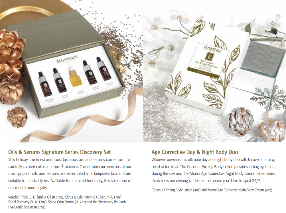 Oils & Serums Signature Discovery Set     Age Corrective Day & Night Body Duo