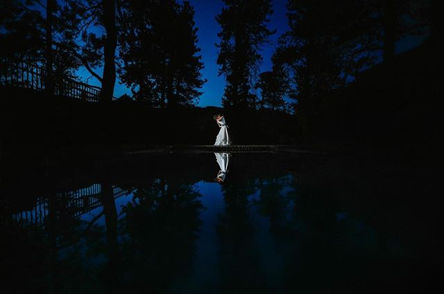 An awesome way to end a beautiful #wedding at @blackcanyoninnweddings  in #estespark