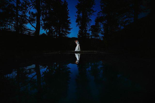 An awesome way to end a beautiful #wedding at @blackcanyoninnweddings  in #estespark
