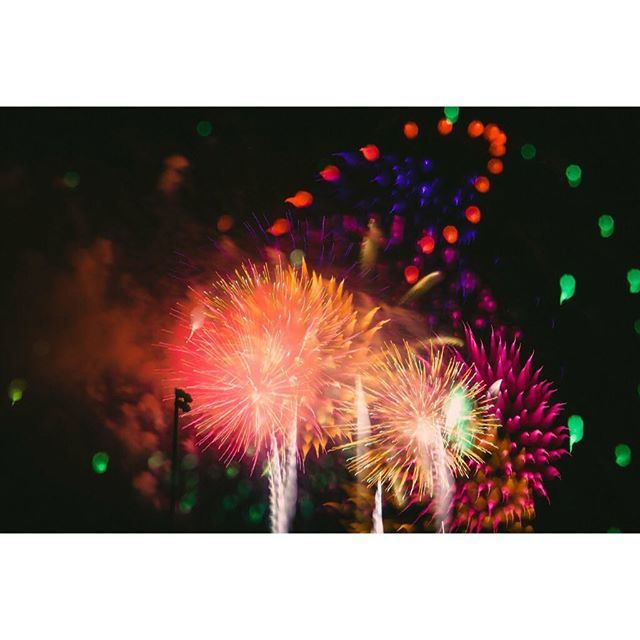 The #grandfinale from this year's #4thofjuly #fireworks show in #denver #stapleton