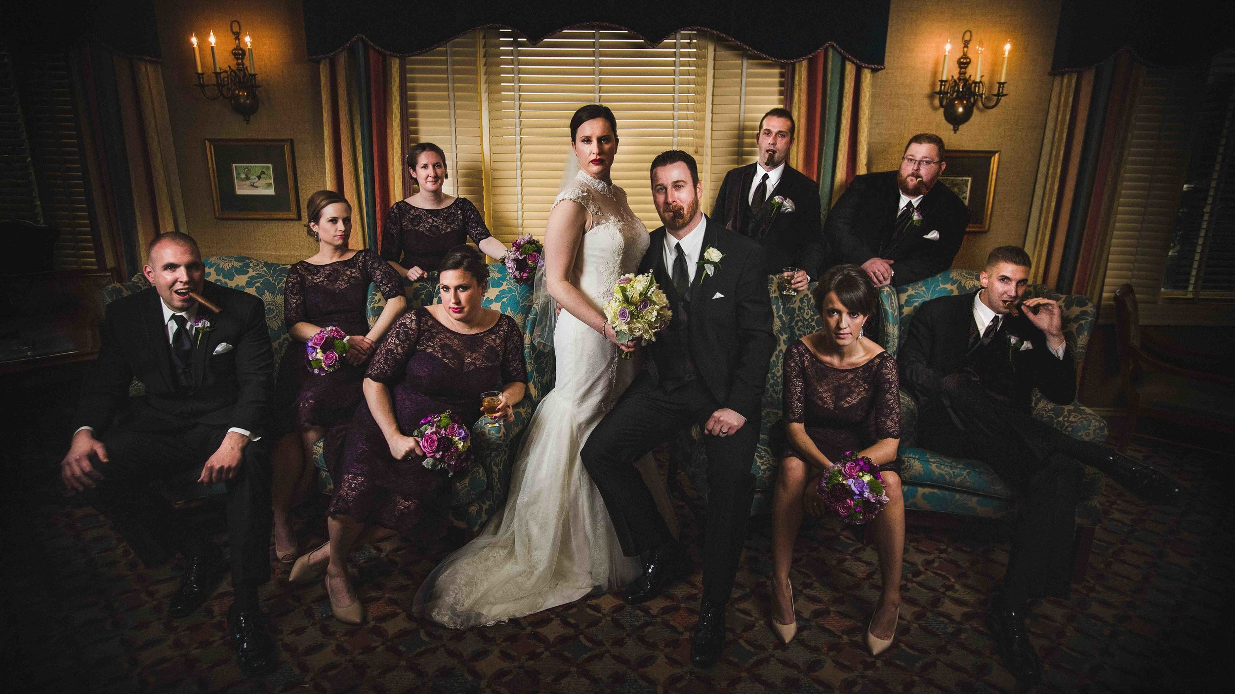 "This bridal party was not messing around!  This is their ""Mad Me"