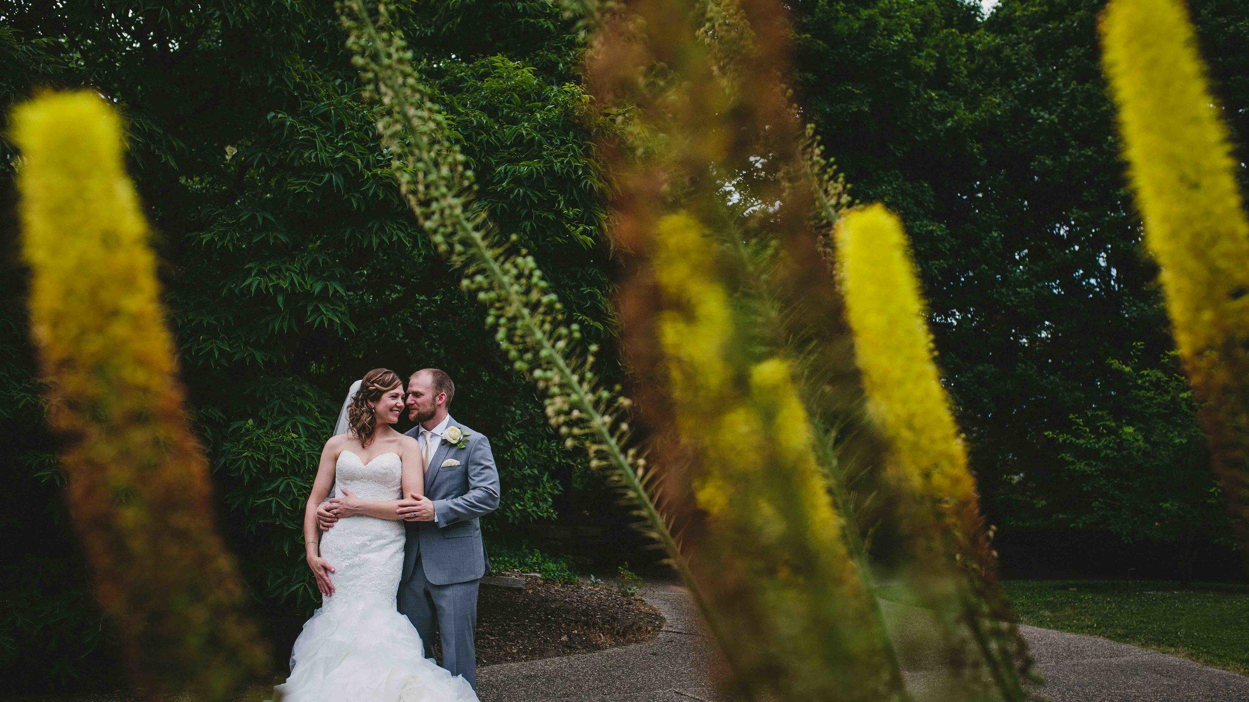 Tiffany + Zach - married!