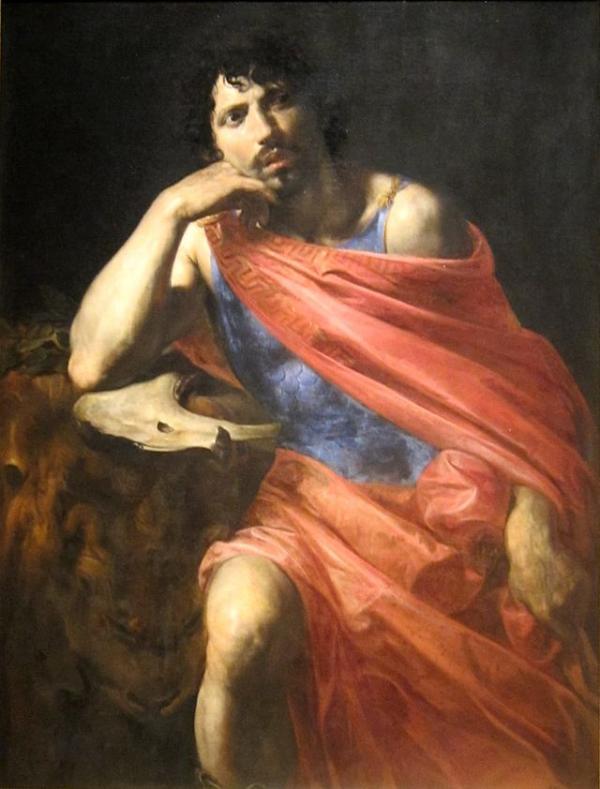 'Samson' by Valentin de Boulogne, c. 1630