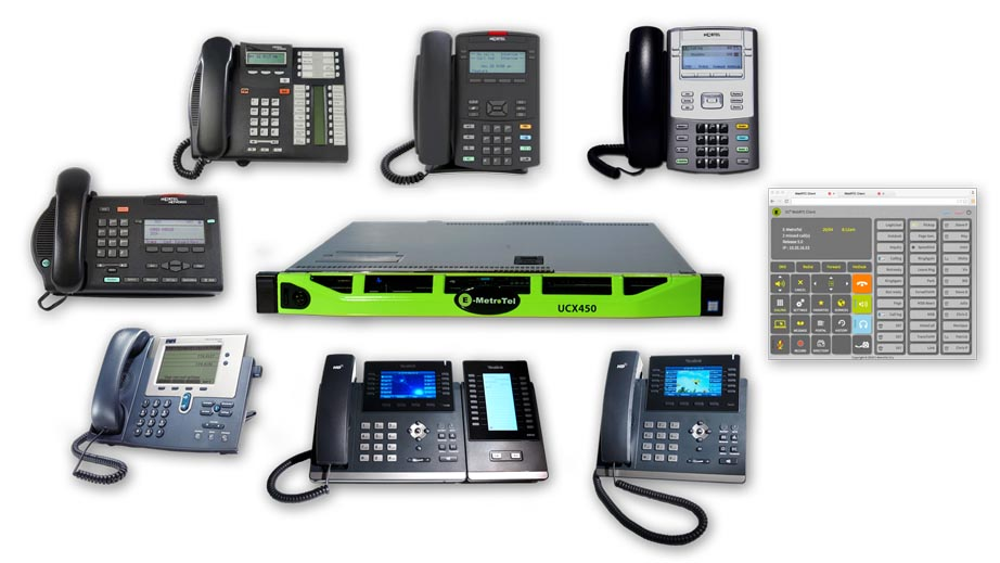 How to hack a Communications Solution! - UCX supports Analog, Digital and VoIP phones — in any combination.Introducing E-MetroTel's UCX IP PBX Communication System•Full PBX & Key System• Single Management•Multi-site Integration•Unified Messaging• Voice Over Internet