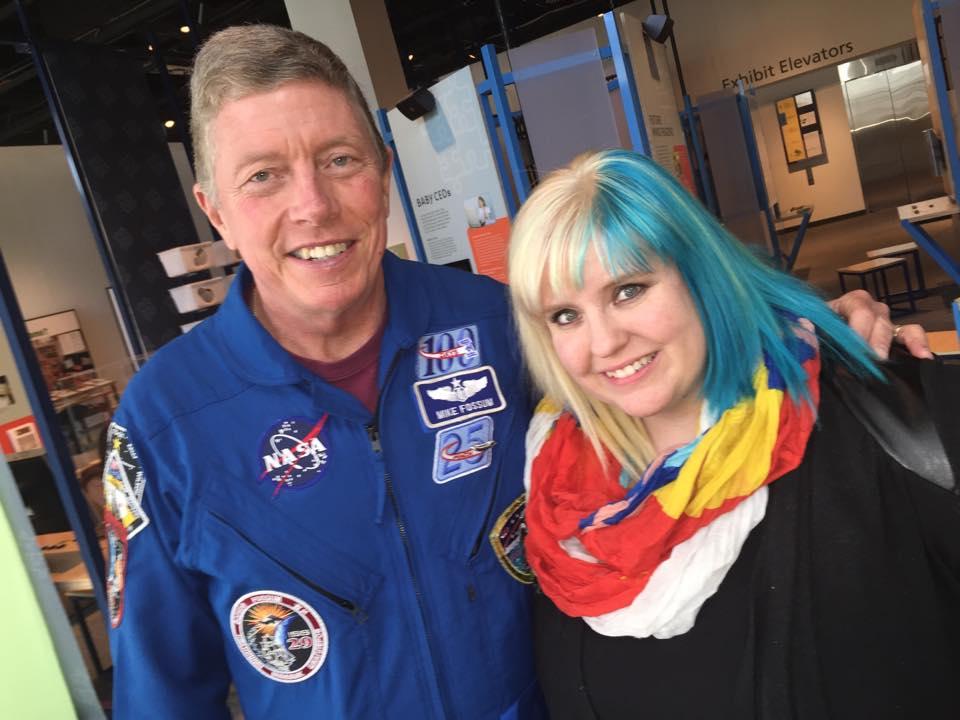 NASA Commander Mike Fossum