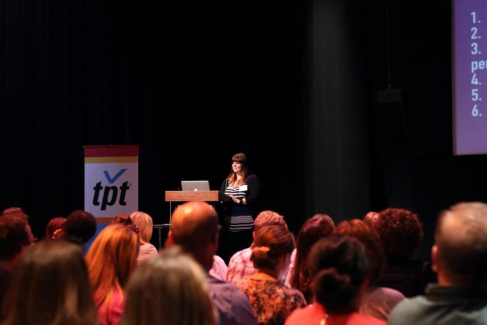 Speaking in St. Paul Minnesota at Social Media Breakfast - photo by Teresa Boardman
