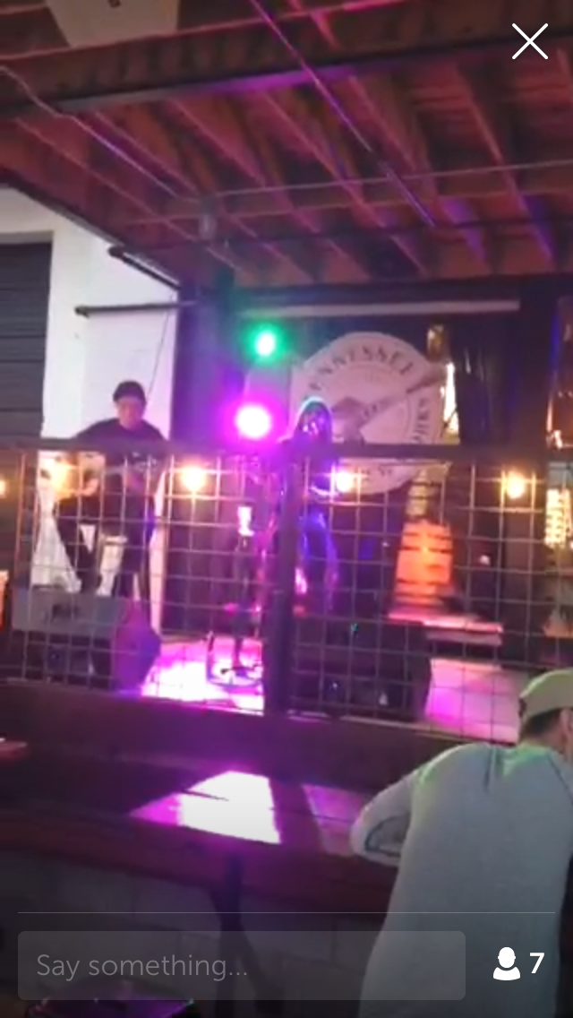 Live music from Nashville, Tennessee on periscope!