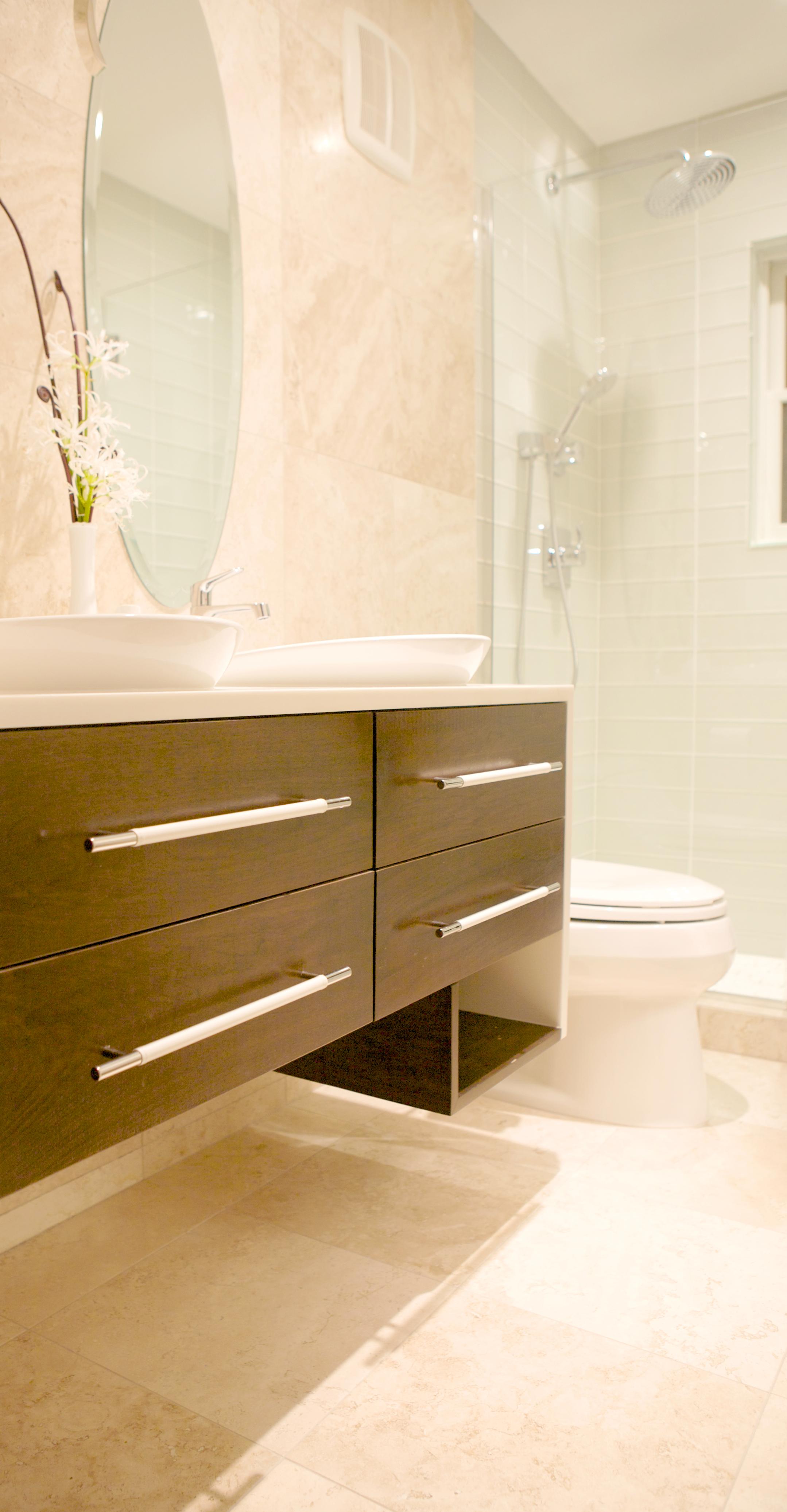 """Brooklyn interior design project: master bathroom renovation"""