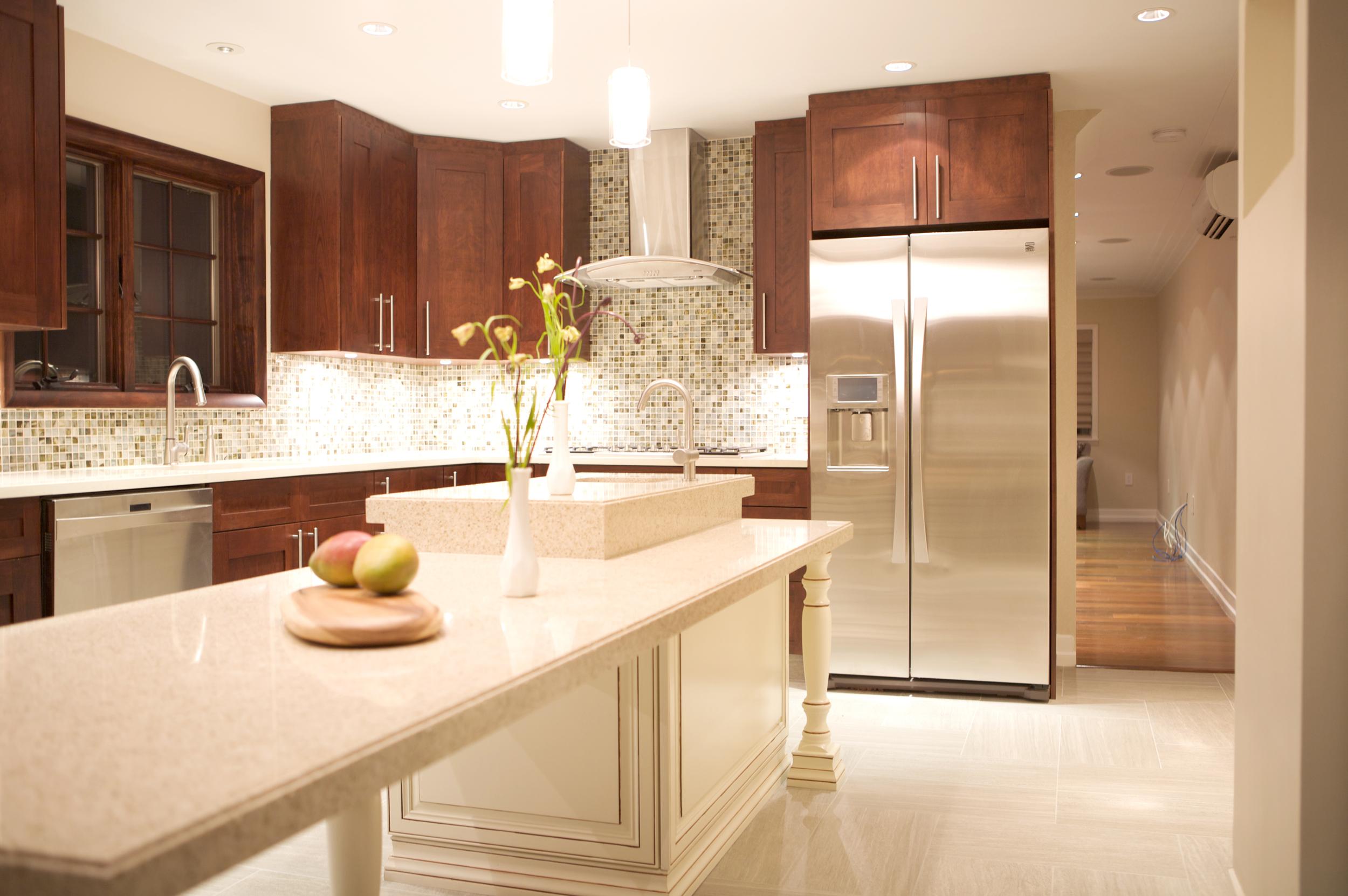 """Brooklyn interior design project: kitchen renovation"""