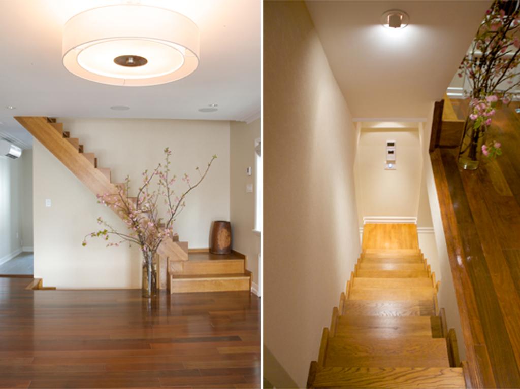 """Brooklyn interior design project: stair design"""