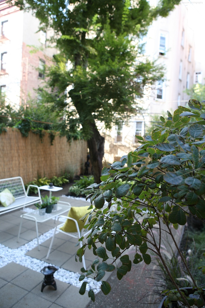"""""""Brooklyn landscape project with stone paver design"""""""