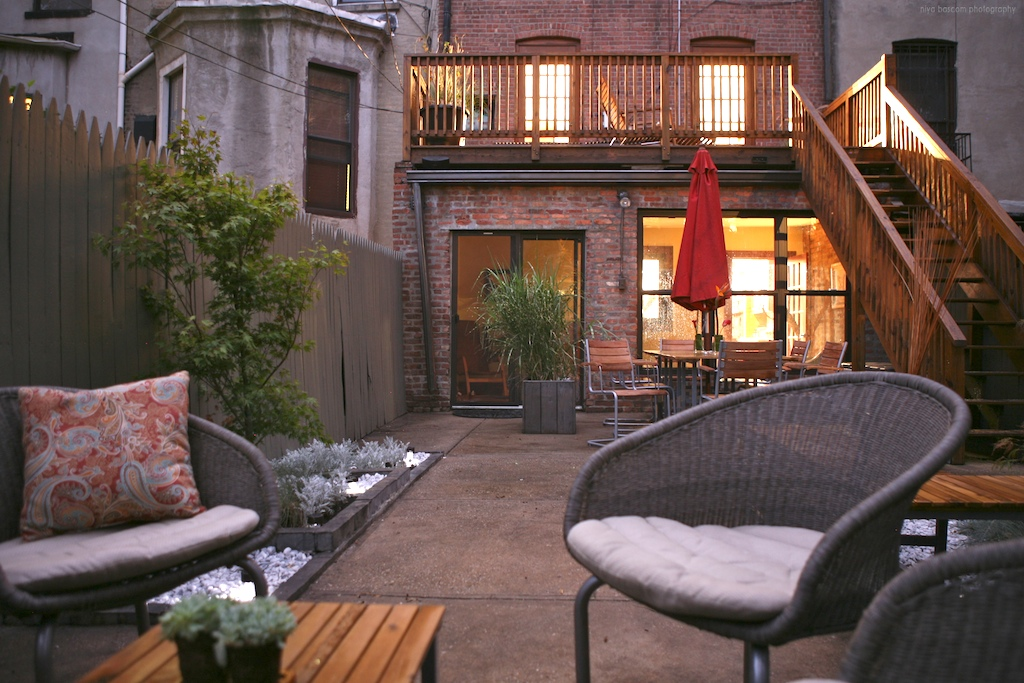 """Brooklyn landscape project featuring multiple entertaining options"""