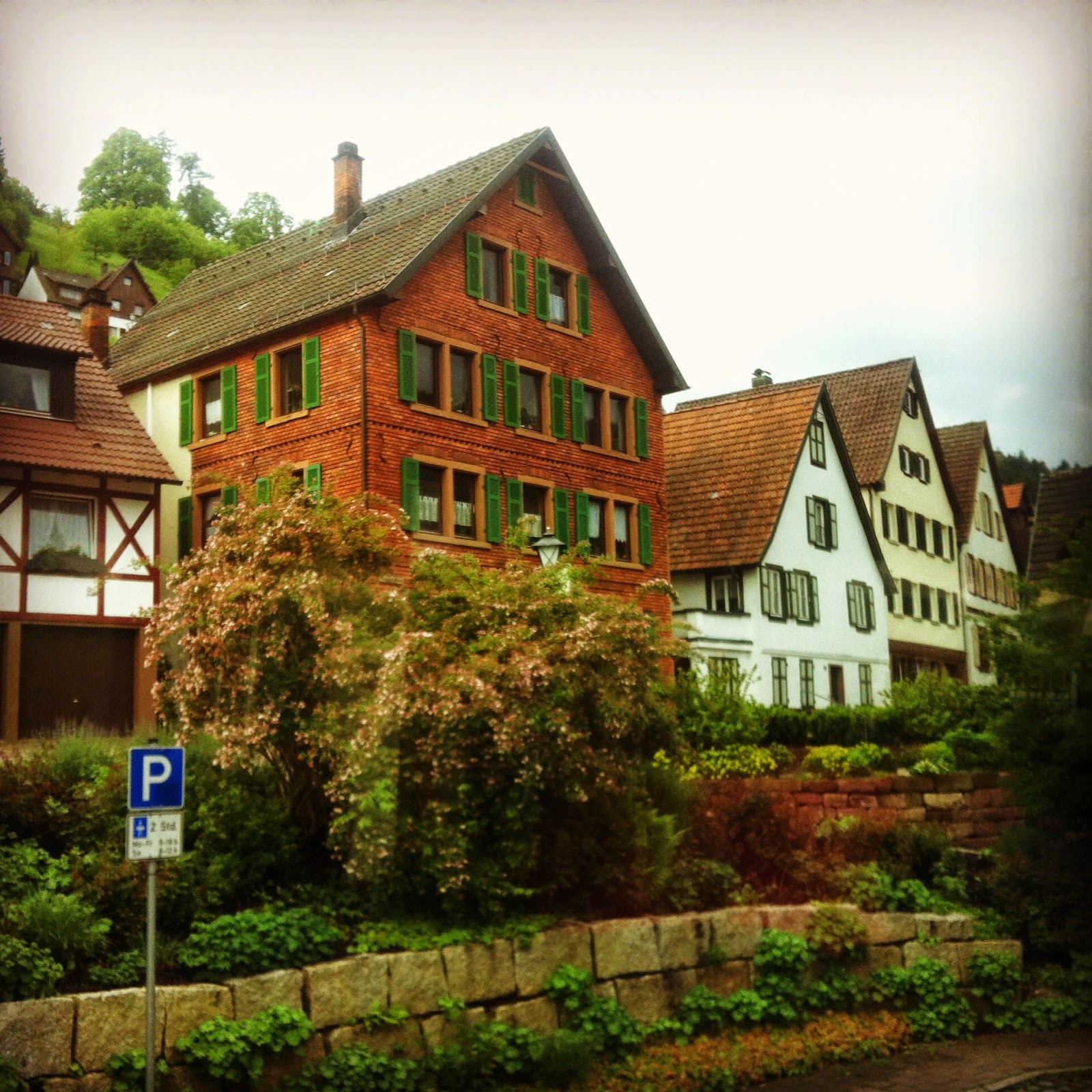 Picturesque town of Schiltach, home of Hansgrohe
