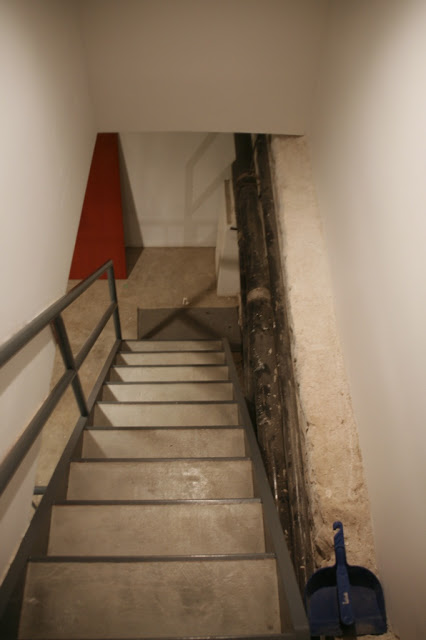 Stairs leading down into the cellar. Photos by Niya Bascom Photography, all rights reserved.
