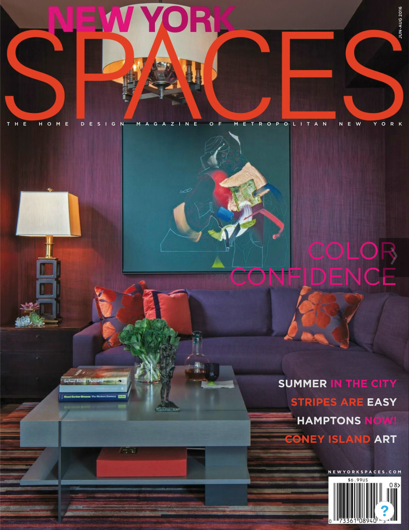 New York Spaces Summer 2016 Issue Cover