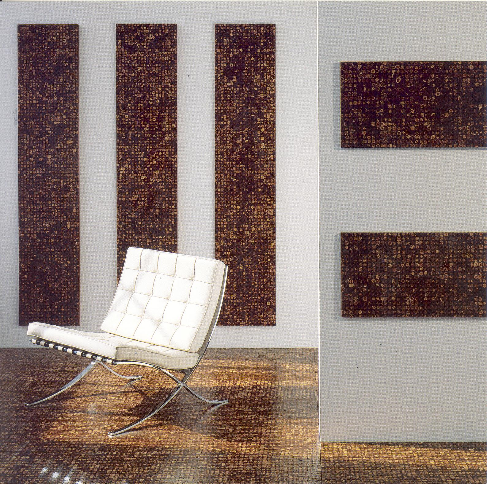Kokosmozaïeken van EKOBE voor het interieur:  Als wand en vloerbekleding, Als designmateriaal voor de meubelbranche.  Wandbekleding, wandbehang, houten wand, wand decoratie, kokos, natuurlijk, natuurproduct, bijzonder wand, kokosnoot, mozaïek, cocos, cocos mosaic. Wall, mosaic, wand mozaïek