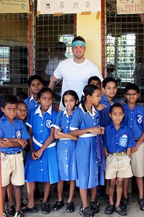 Dr. Zach's Fiji Clinic Abroad 2011