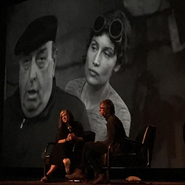 #christophermorris Artist Talk with @maryannegolon at @theparamounttheater #look3festival #photography  #timemagazine