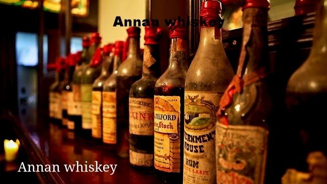 Annan whisky-whiskey