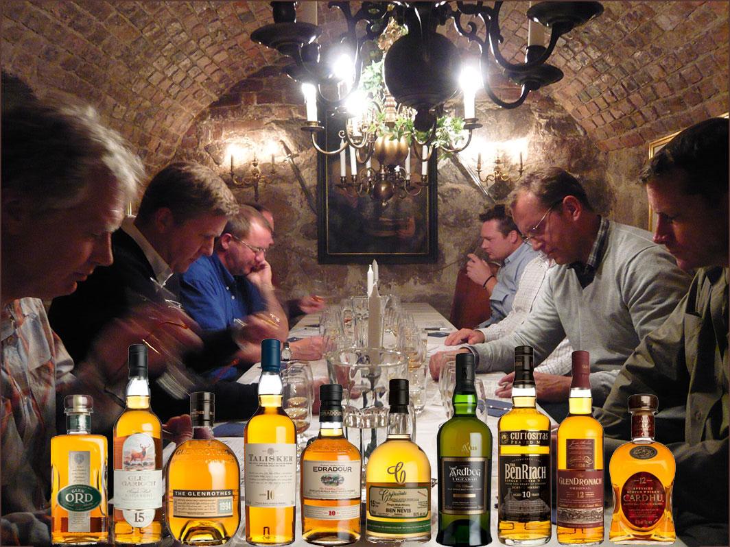 Whiskyskola i Stockholm.