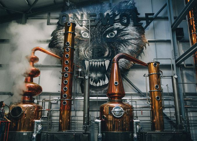 BrewDog distillery