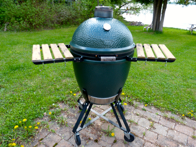 Large Big Green Egg. Photo by Sue Van Slooten