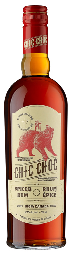 Chic Choc Spiced Rum, photo courtesy of Domaine Pinnacle