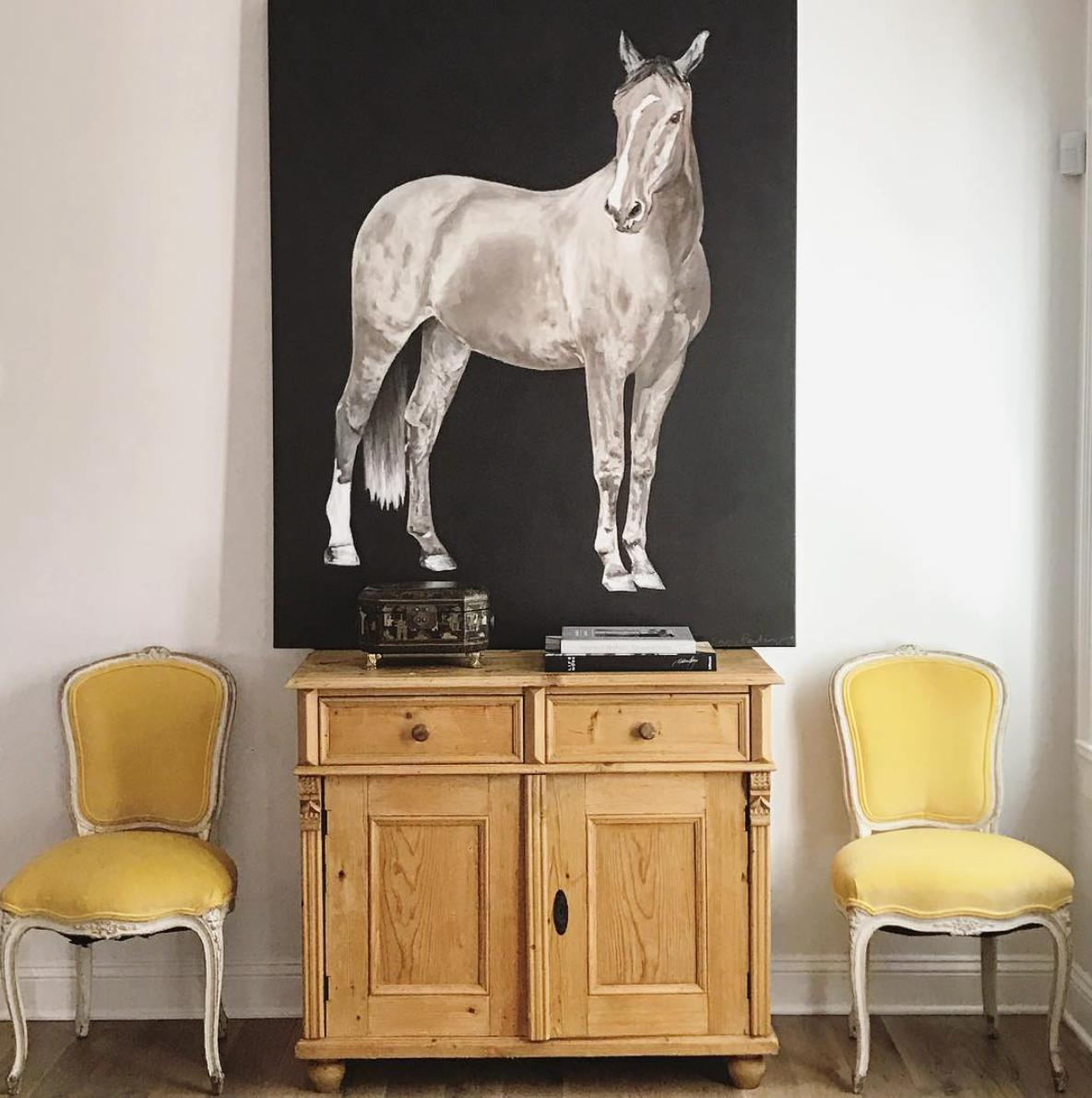 horse, on canvas, 48 x 60
