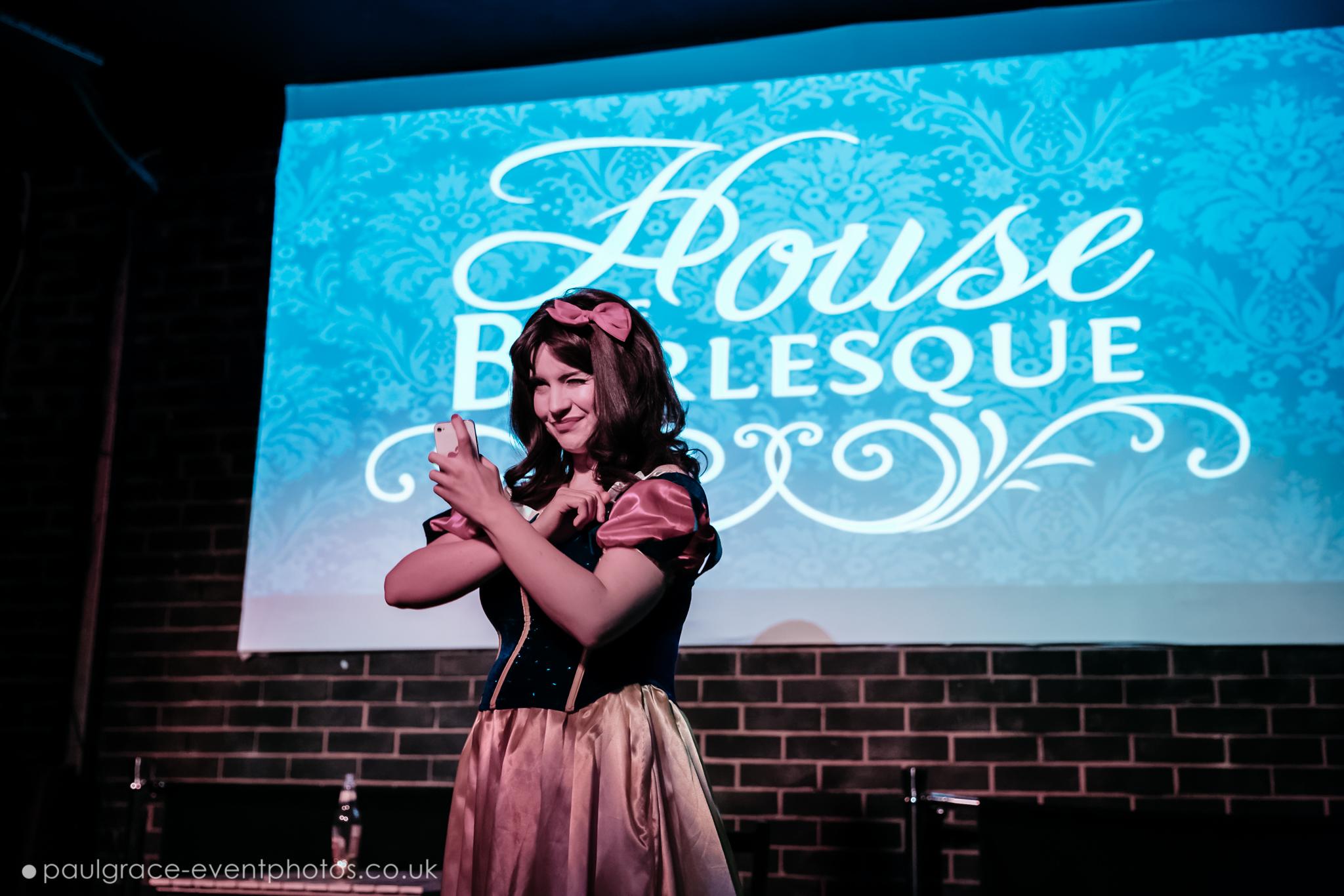 Ruby Corkscrew House of Burlesque 2015 Graduation Show