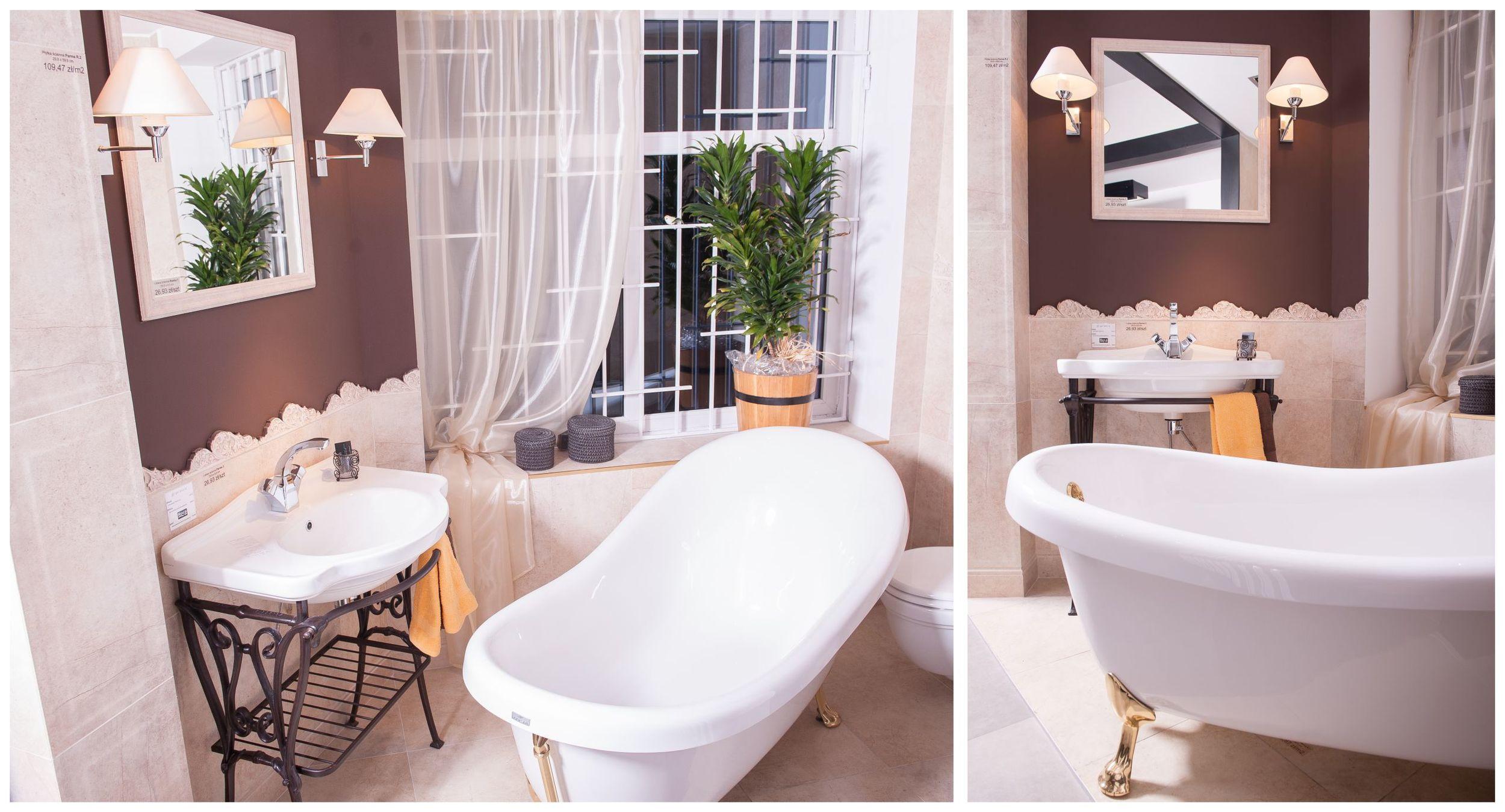 Salon wyposażenia łazienek Kamgres   Tubądzin   Roca