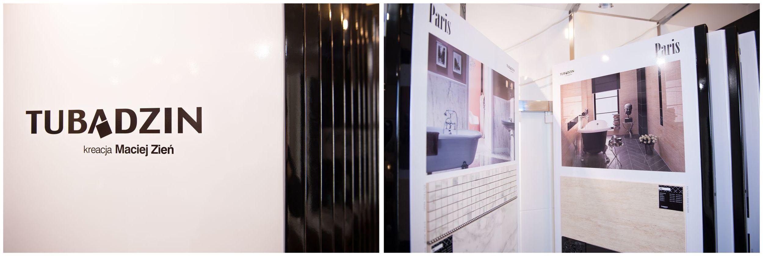 Salon wyposażenia łazienek Kamgres | Tubądzin kreacja Maciej Zień