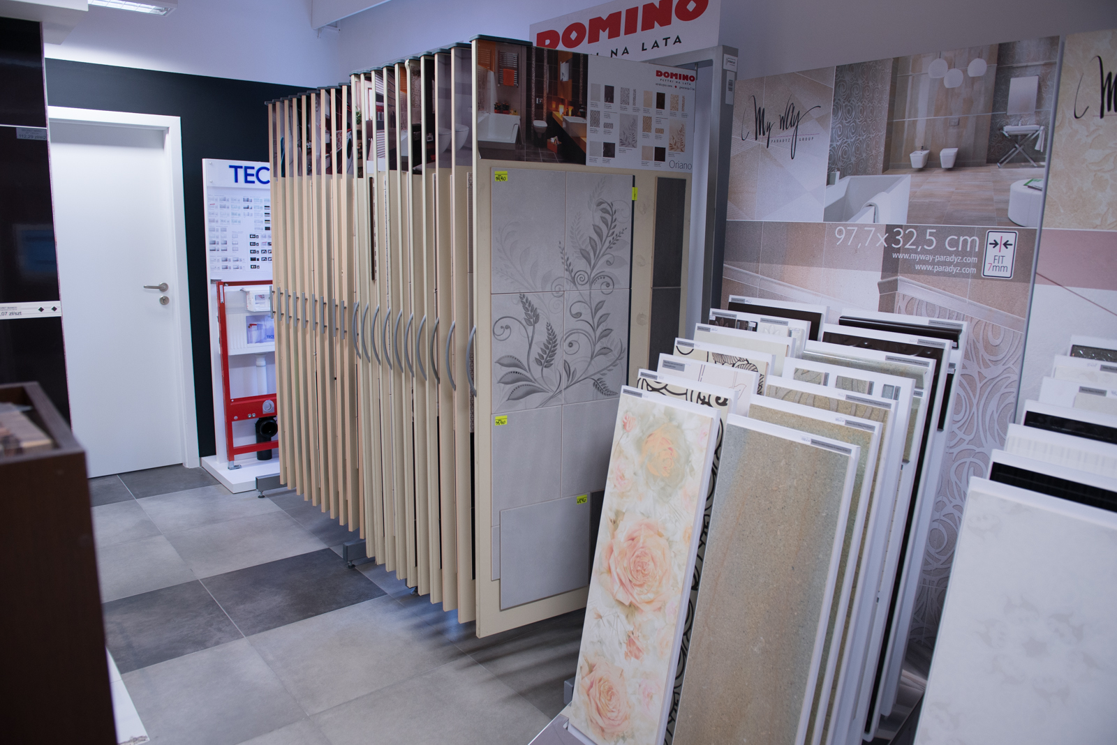 Płytki ceramiczne Domino | Salon Łazienek Kamgres | Łódź