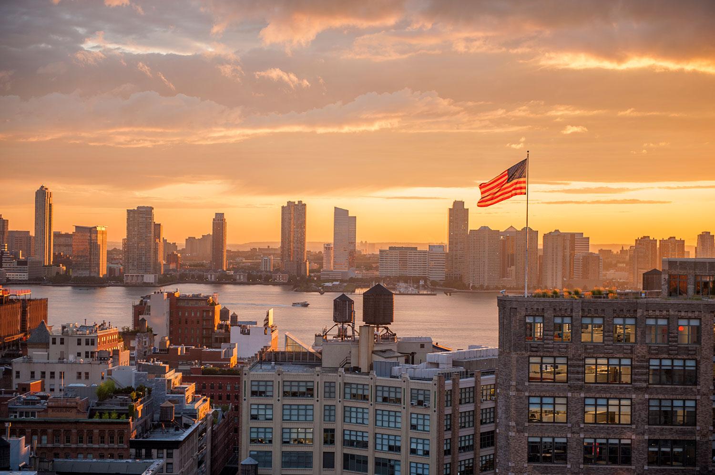 New York, America