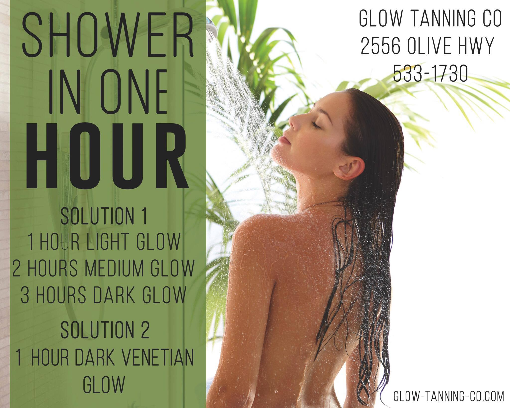Rapid ONE HOUR TO SHOWER!