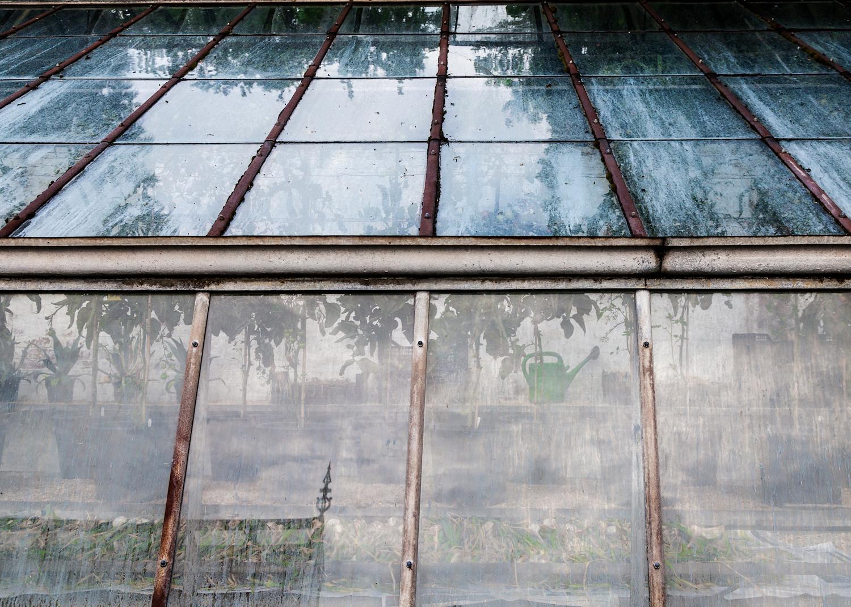 Drying crops, glasshouse, Tyntesfield