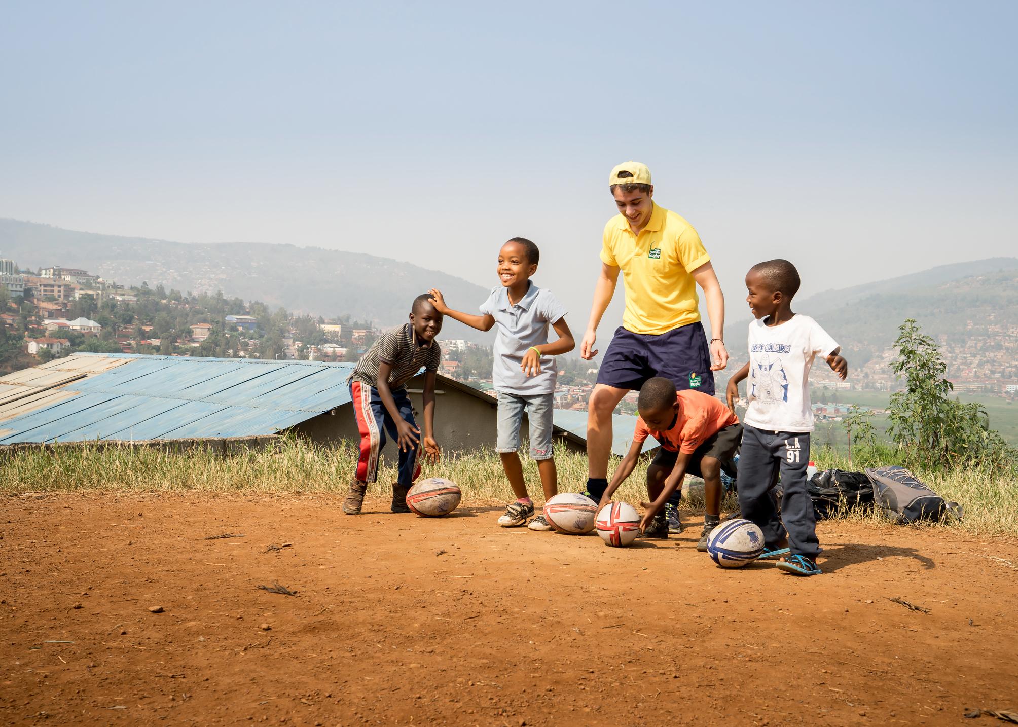 Coachingat Kinamba Project, Kigali