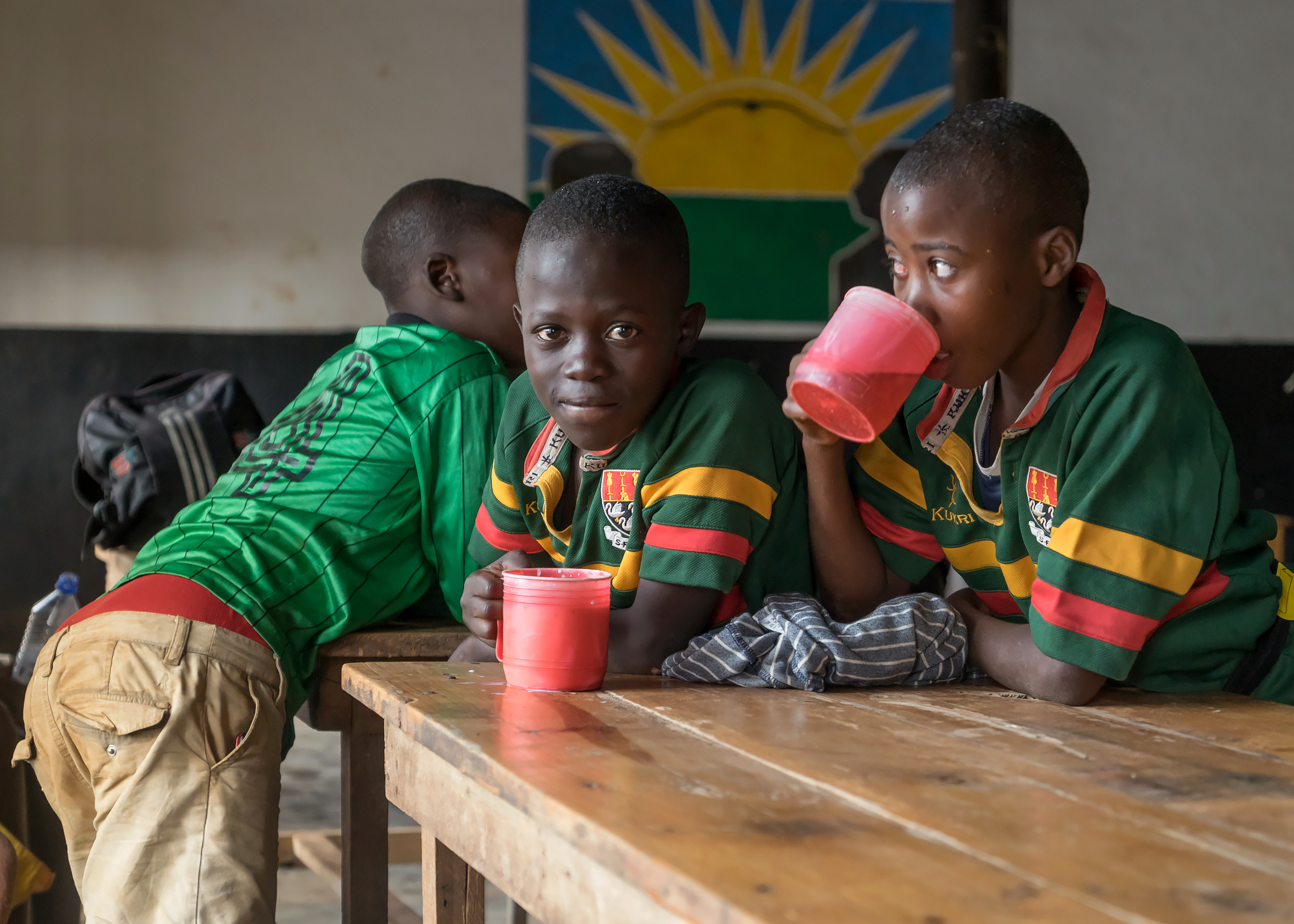 Sheltering from the storm, Rwandan Orphans Project