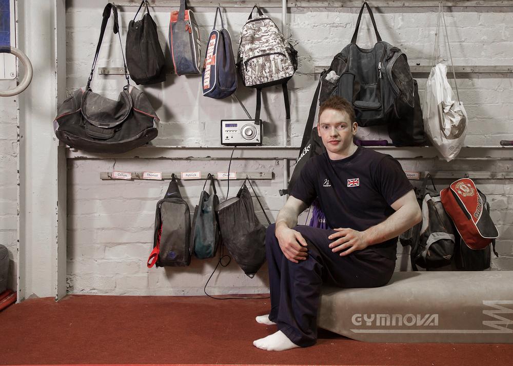 Danny Purvis, at YMCA Southport Gymnastics Club