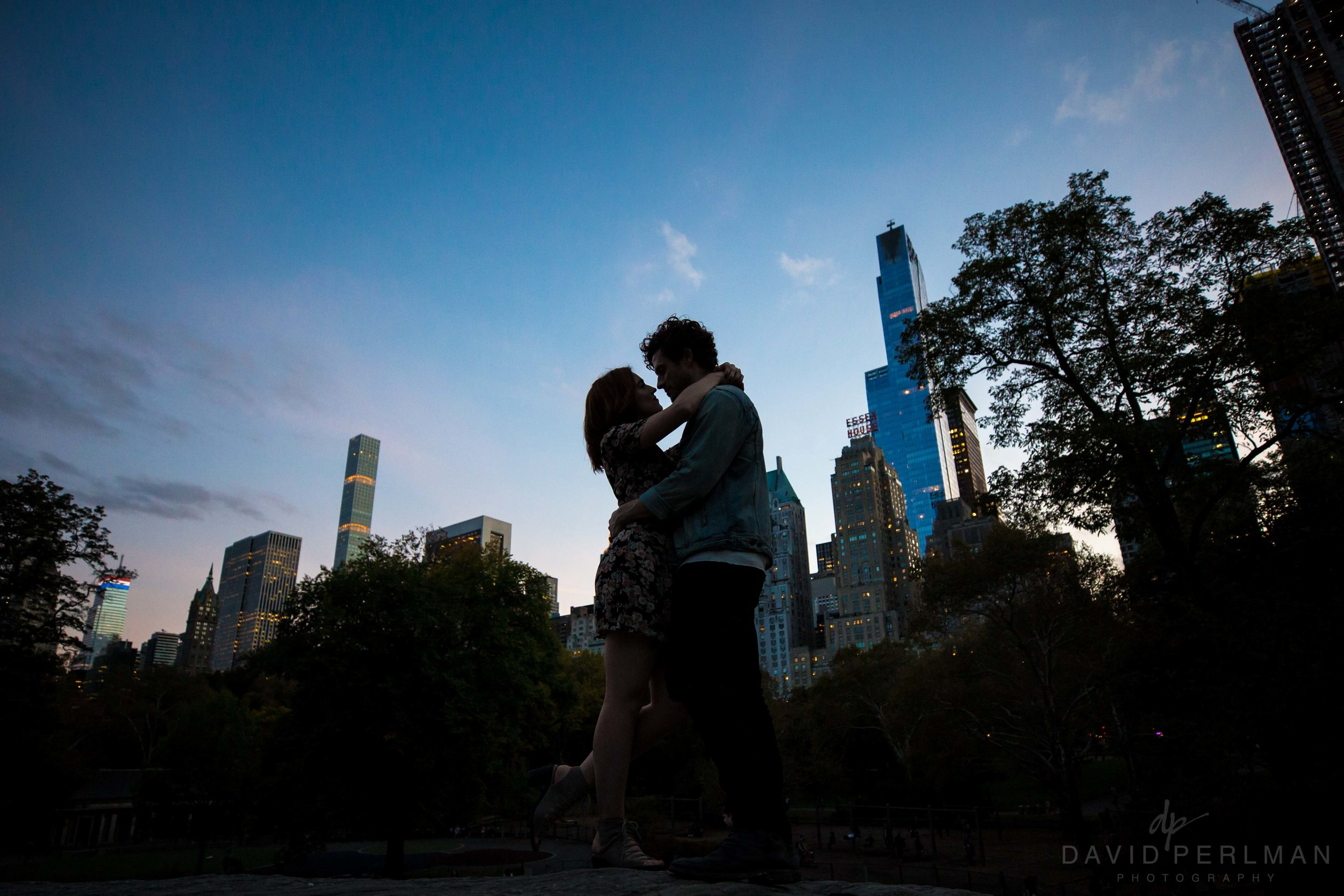 Central Park Engagement Session Photos