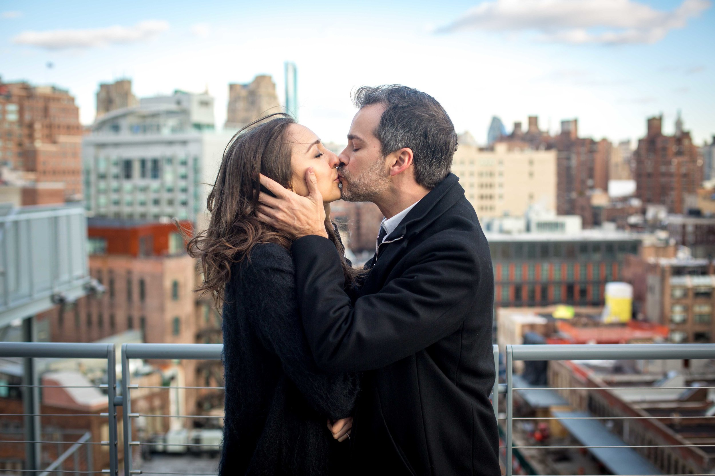 NYC Engagement Photo Shoot Session