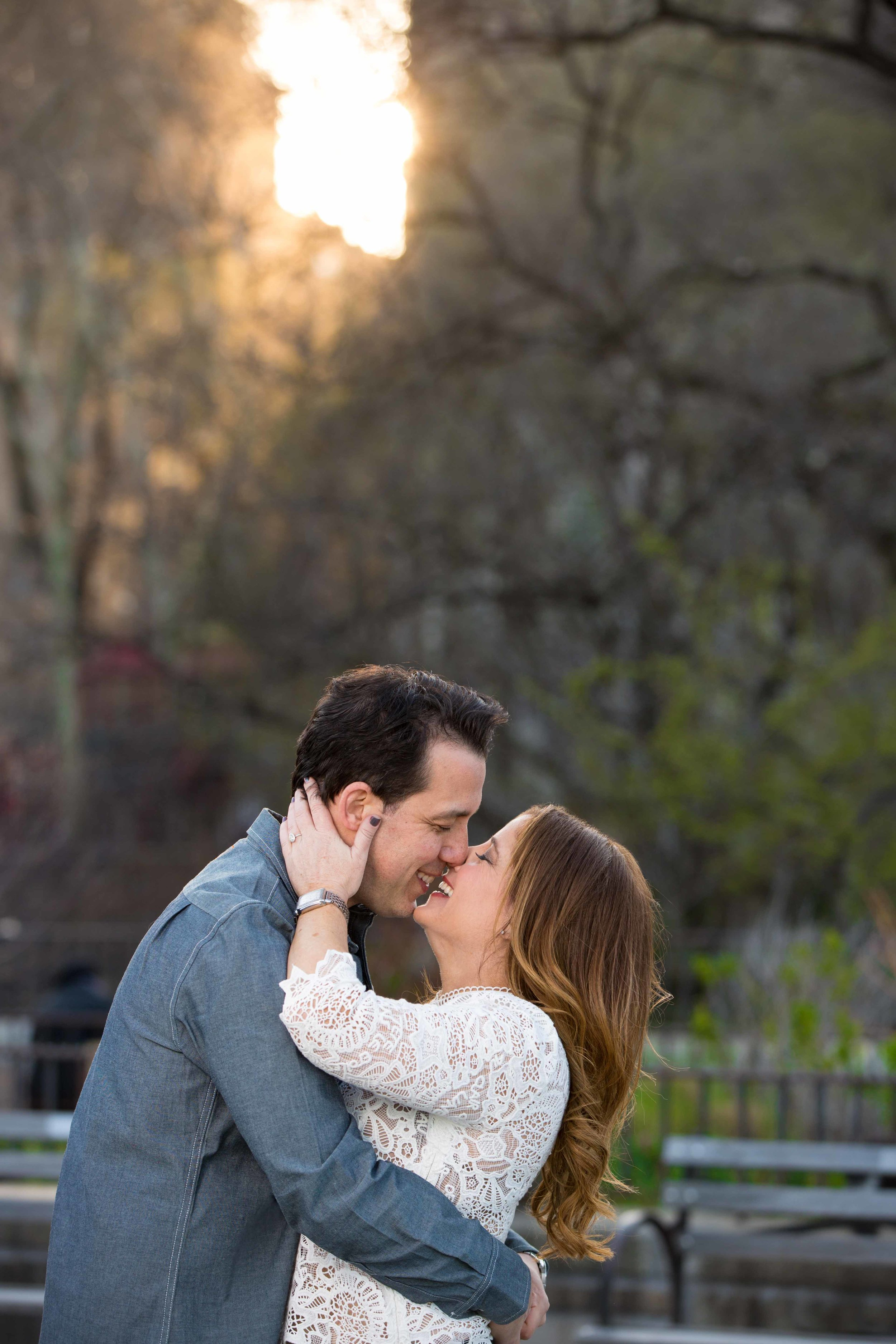 NYC Carl Schurz Park Engagement Photo Shoot Session 2.jpg