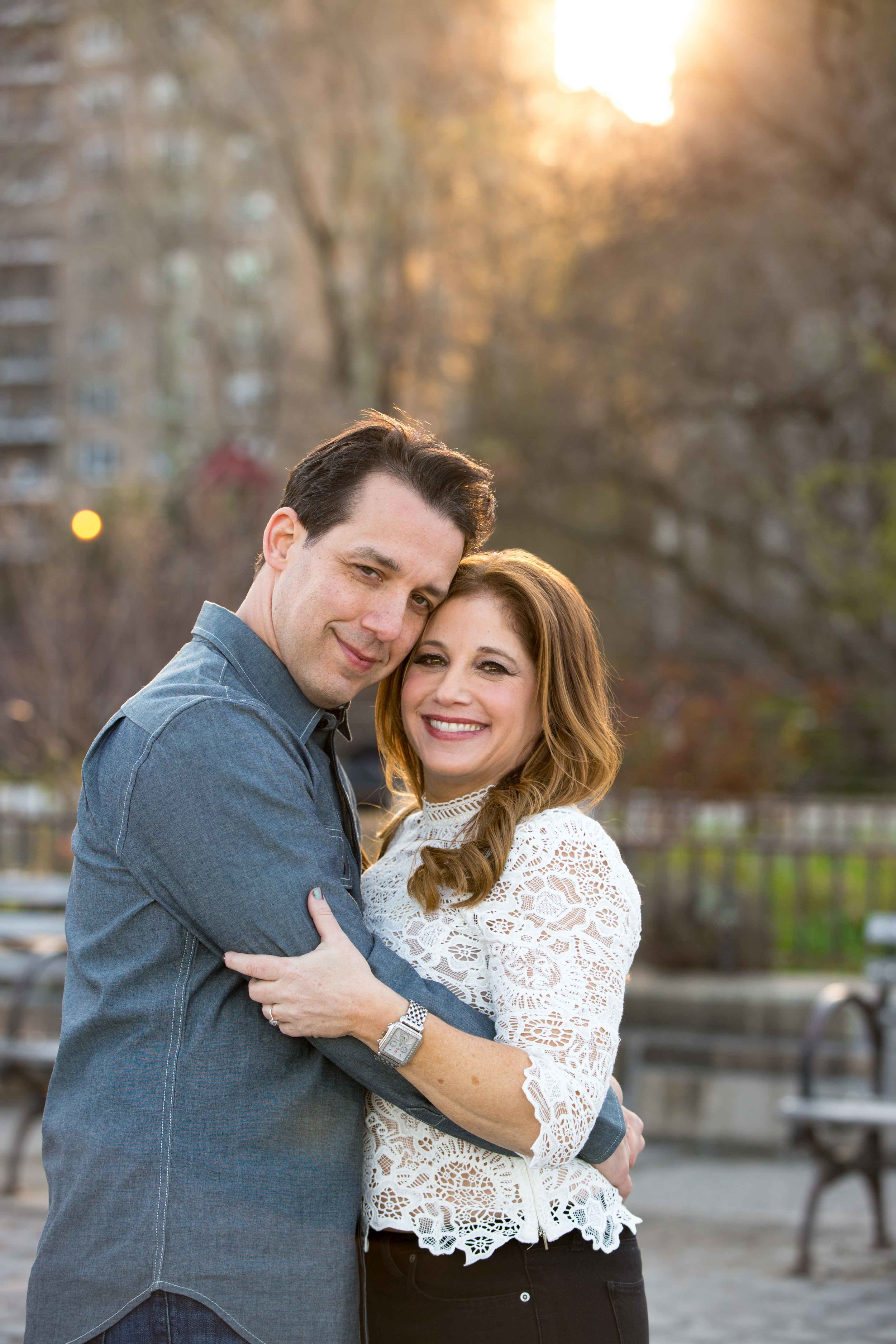 NYC Carl Schurz Park Engagement Photo Shoot Session 1.jpg