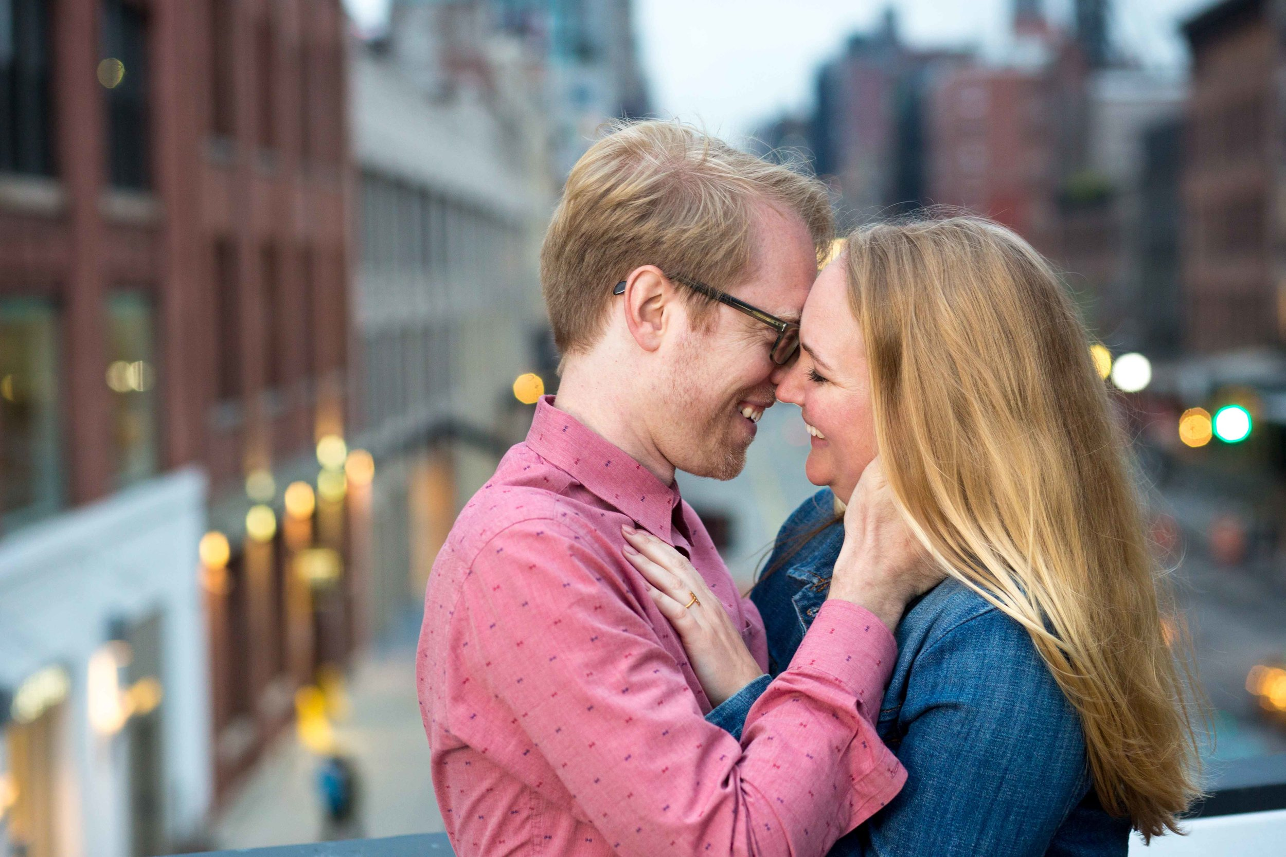 High Line NYC Engagement Session Photo Shoot New York City